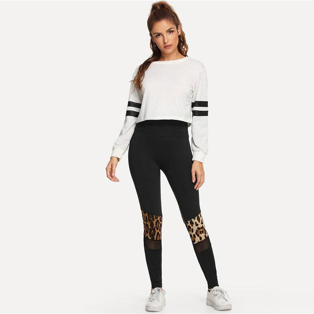 HOLD ON TIGHT Wild Leggings - OutFancy