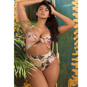 SUMMER LOVING FLORAL SWIMSUIT - OutFancy