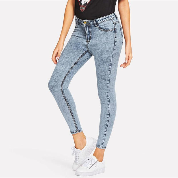 HANDLE ME WITH CARE Jeans - OutFancy