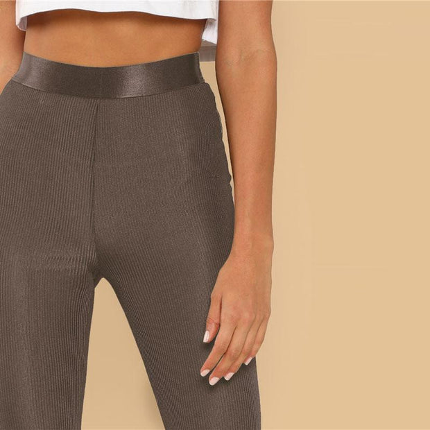 ON THE RUN Stretchy Leggings - OutFancy