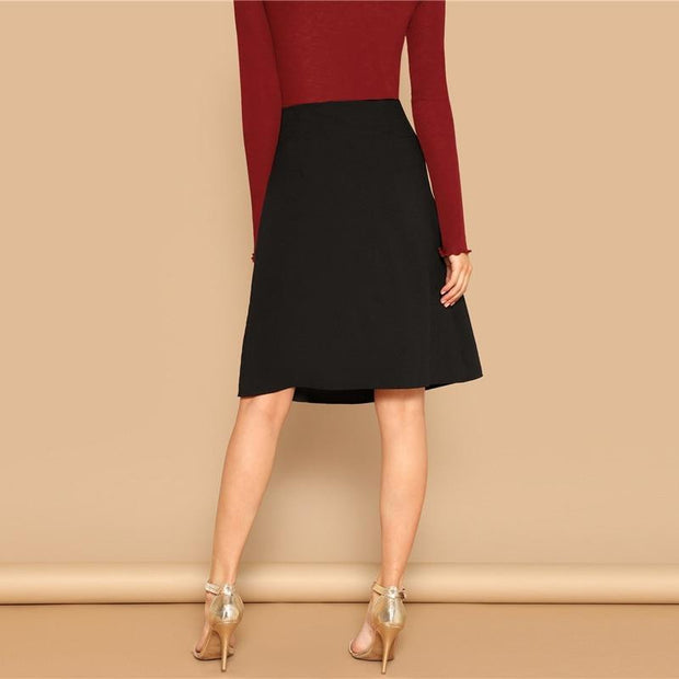 ALL THE WAY UP Elegant Skirt - OutFancy