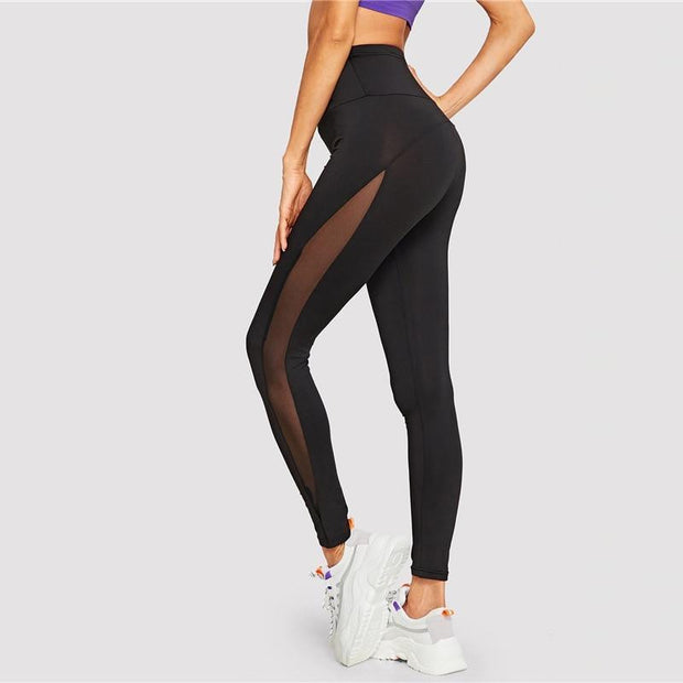 FIRE IN MY SOUL Mesh Leggings - OutFancy