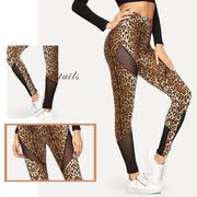 ON THE GO Leopard Leggings - OutFancy