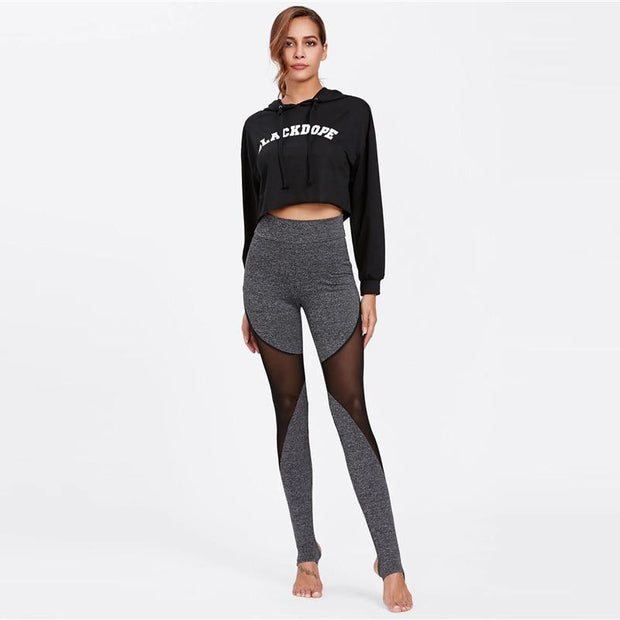 FOCUS ON ME Knit Stirrup Leggings - OutFancy