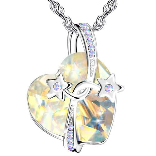 Women Crystal Beads Pendant Necklaces
