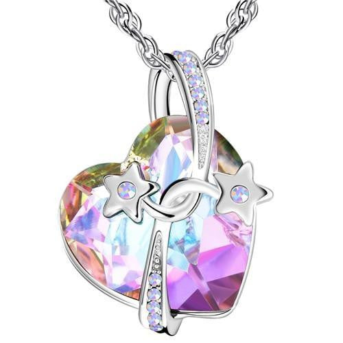 Women Crystal Beads Pendant Necklaces - OutFancy