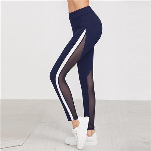 WHAT'S ON YOUR MIND Striped Leggings - OutFancy