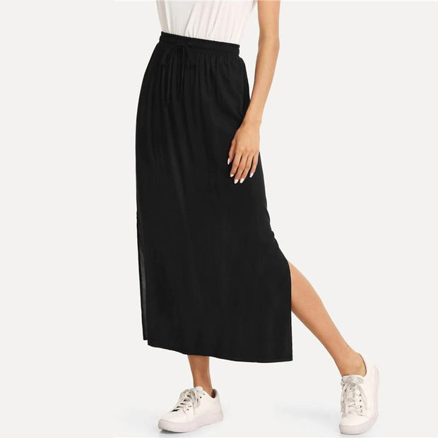 BACK AND BETTER  Column Skirt - OutFancy