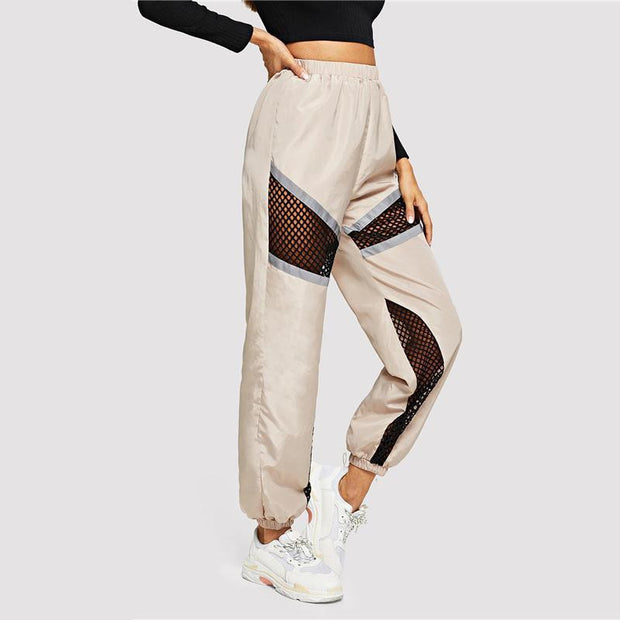 BORN THIS WAY Fishnet Trousers - OutFancy