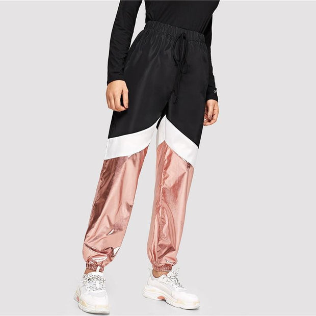 GOT IT LIKE THAT Colorblock Pants - OutFancy