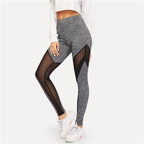 IN THE NEAR FUTURE Mesh Leggings - OutFancy