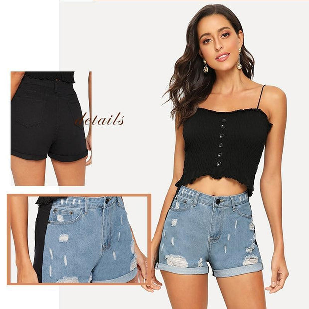 NOT YOUR TYPICAL Denim Shorts - OutFancy