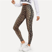 FOCUS ON ME Leopard Leggings - OutFancy