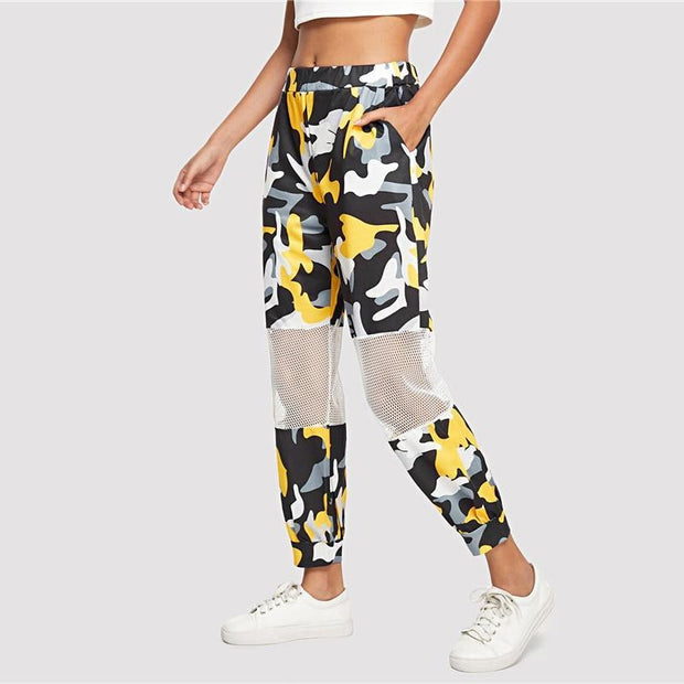 BE LIKE ME Camo Pants - OutFancy