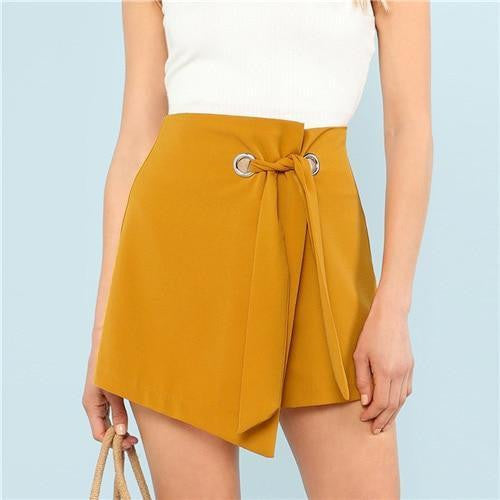 ALWAYS A GOOD TIME Knot Skirt - OutFancy