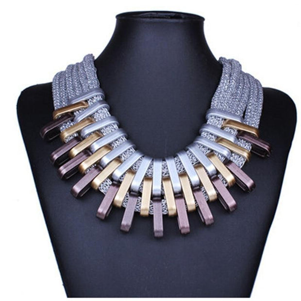CAPTIVATED New Acrylic Punk Fashion Necklaces - OutFancy