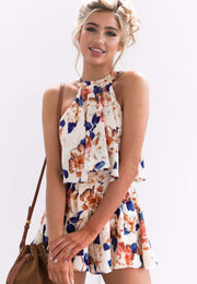 SUMMER LOVING FLORAL SET - OutFancy