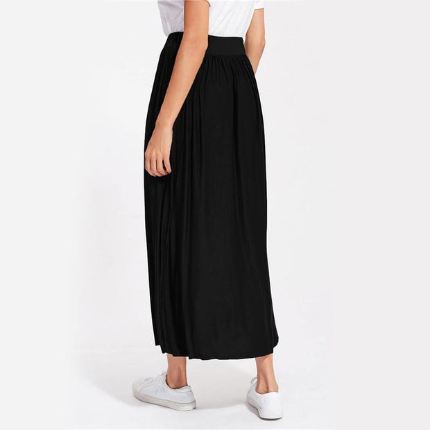 LISTEN TO ME Full Length Skirt - OutFancy
