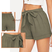 JUST CHILLIN Belted Shorts - OutFancy
