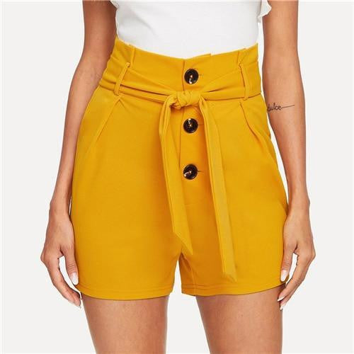 KNOT YOUR GIRL Ginger Shorts - OutFancy