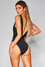 SUMMER LOVING Deep-V SWIMSUIT - OutFancy