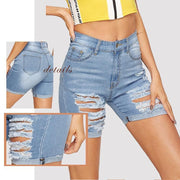 GO A LITTLE DEEPER Denim Shorts - OutFancy
