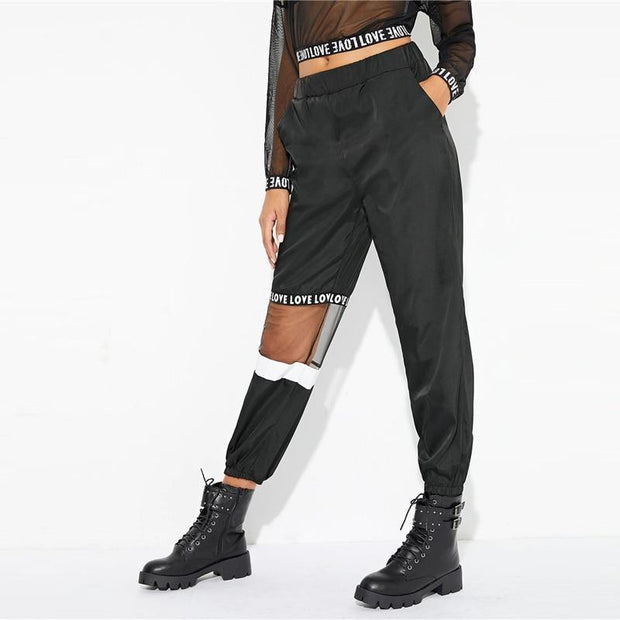 SAIL AWAY Mesh Pants - OutFancy
