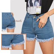 PUT ME FIRST Denim Shorts - OutFancy