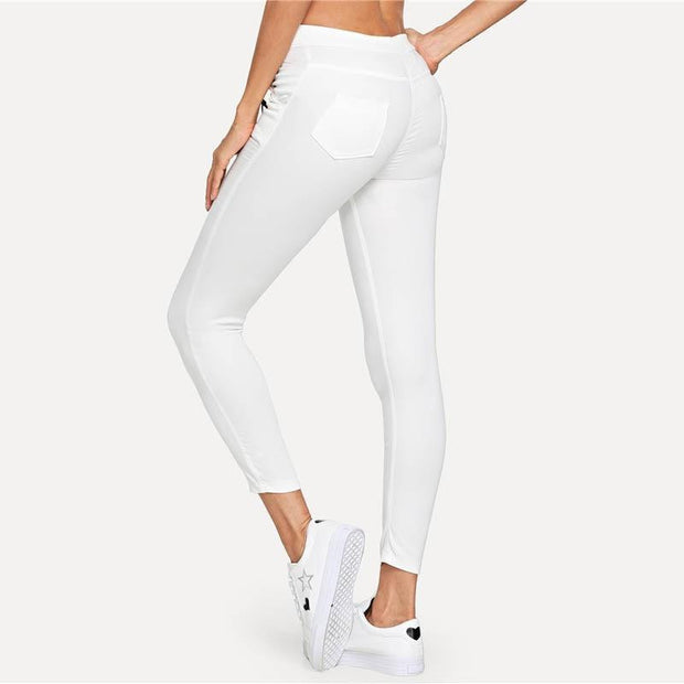 GET YOU ALONE Skinny Jeans - OutFancy