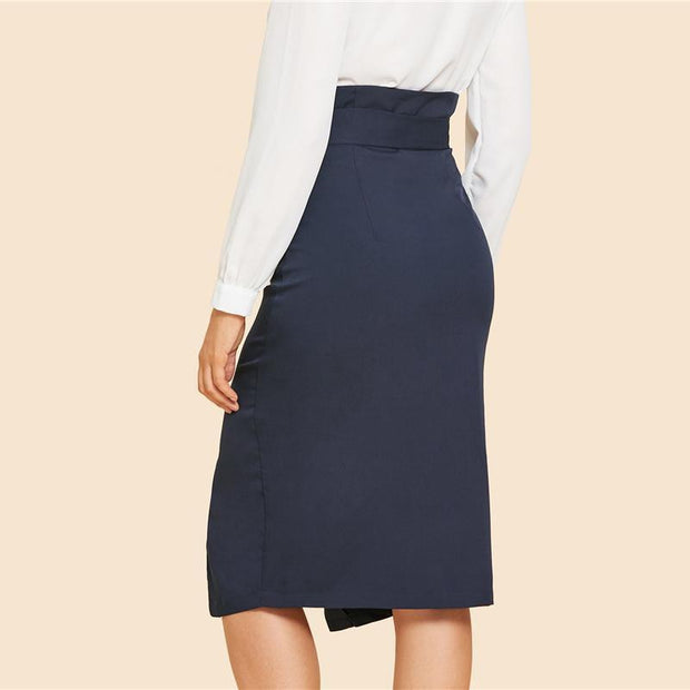 NOT YOUR CHICK Split Skirt - OutFancy