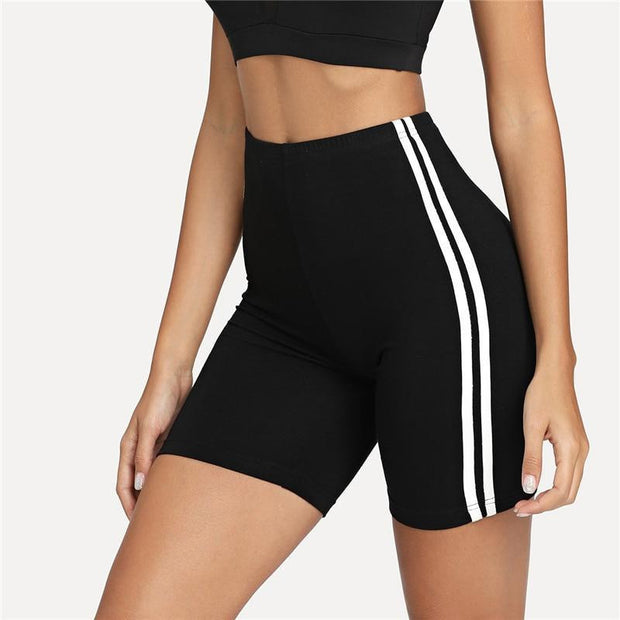 CHECKING ME OUT BIKER Shorts - OutFancy