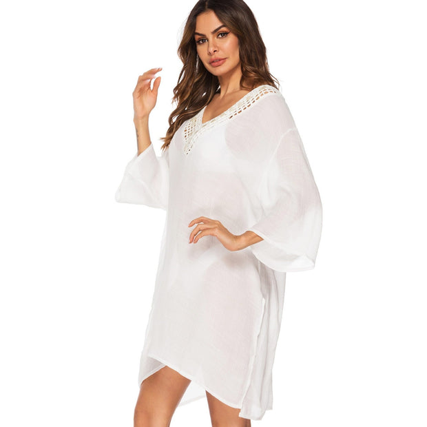 OCEANSIDE SWIM COVER UP - OutFancy