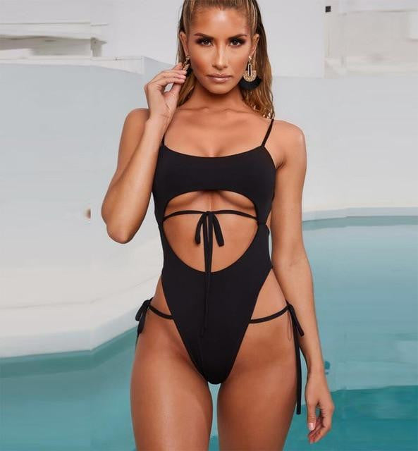 OCEAN WAVE Cut SWIMSUIT - OutFancy