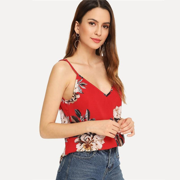 YOU'RE JUST FOR ME Floral Top - OutFancy
