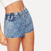 AFTER LIFE HIGH Denim Shorts - OutFancy
