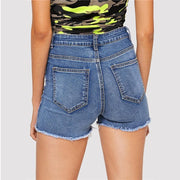 I'M WHAT YOU NEED Denim Shorts - OutFancy