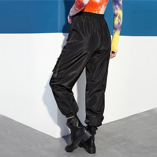 MEET ME THERE Fishnet Pants - OutFancy