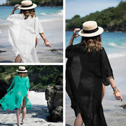 A TOTAL BEACH SWIM COVER UP DRESS - OutFancy