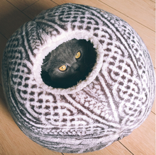 Spherical Cat Bed with Round Opening: Your Cat Will Love It! Cat House, Cat Space