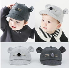 Thick Cotton Winter Baby Hat:  Warm Cat Cap for Baby  - Cap For Boys/Girls Baby Beanies for Kids