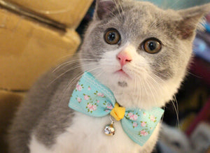 Cat Bow Tie in Various Designs: Cats and Dogs Collar Pet Bow Tie