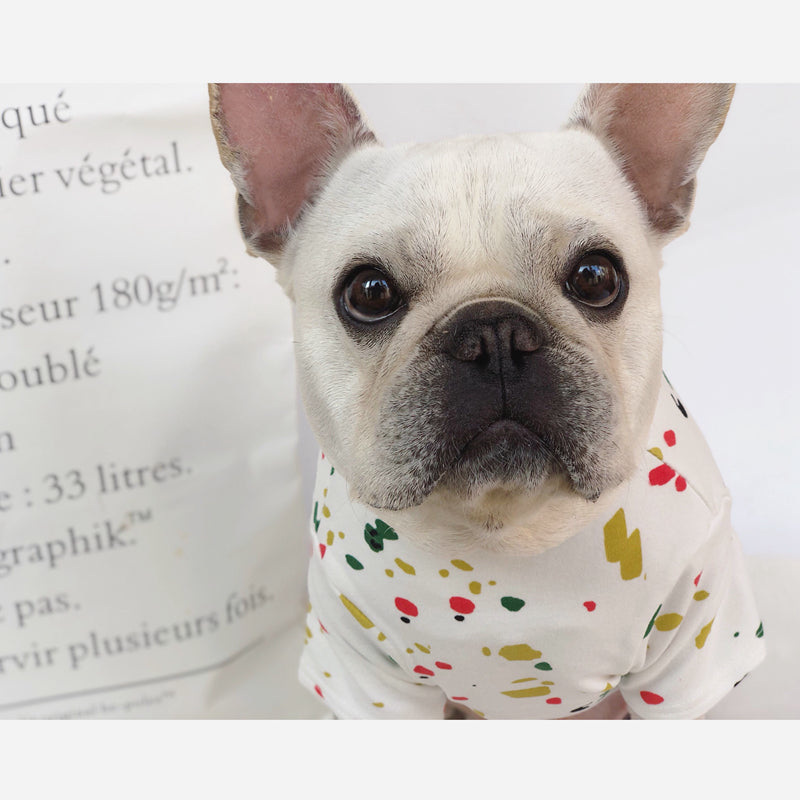 Soft Dog T-shirt: Dog Summer Clothes for Breeds Like French Bulldog, Pug, Suitable for Small Dogs - Dog Casual Wear