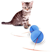 Cat's Electronic Laser Magic Ball Toy