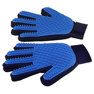 Deshedding Grooming Glove (Great For Cats And Dogs Too!)