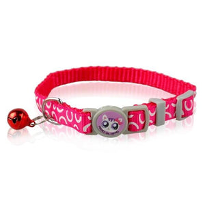 Adjustable Nylon Cat Collar with Bell