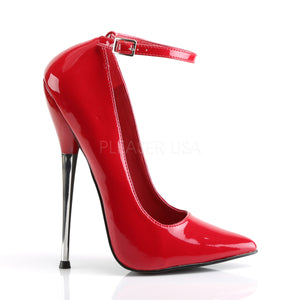 Red or Black Fetish Shoes with 6-inch Stiletto Heel