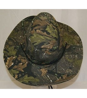 RF-100072 Green Leaf Camouflage Hat