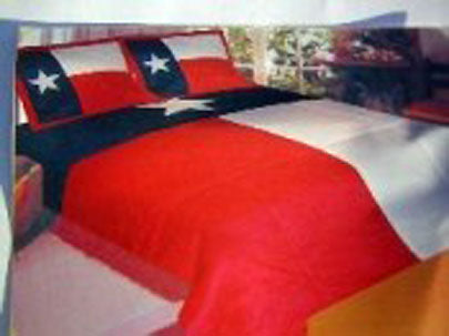 Texas Flag Quilt Comforter Set