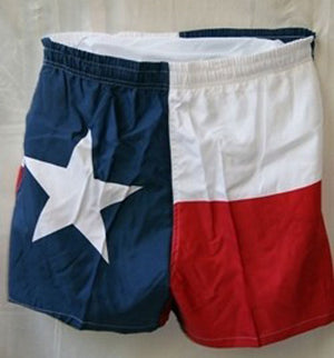 Texas Flag Men's Swim Trunks