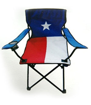 Texan Flag folding chair